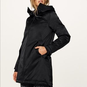 Lululemon No Shivers jacket black size 2